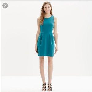 Madewell teal Verse dress